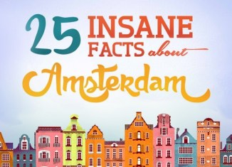 25 Insane Facts Amsterdam Infographic