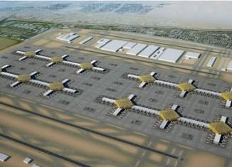 Dubai Airport Expansion Rendering