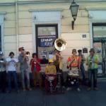 Visiting Musicians on Prince Mihajlo (Knez Mihajlova) Street, Belgrade