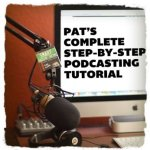 starting a podcast for fiction authorpreneurs with Pat Flynn. Click the picture.