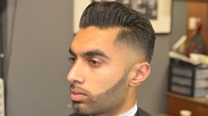 Pompadour-w-Low-Taper-Bald-Fade-Beard