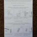 The awkwardly long Soylent instructions.