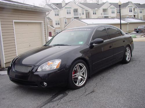 My 2003 Nissan Altima 3.5 SE