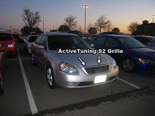 Nissan Altima with ActiveTuning S2 Grille