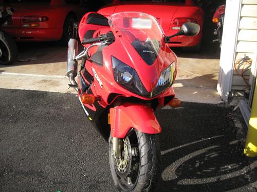 My Honda CBR600 F4i
