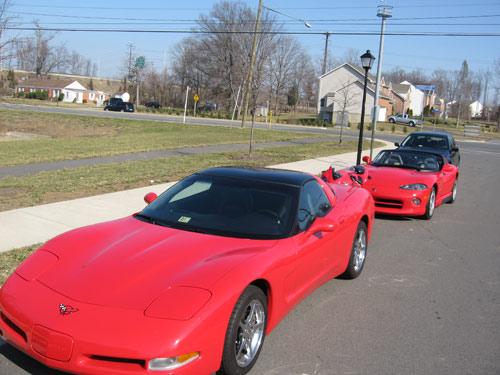 1997 C5 Red Corvette