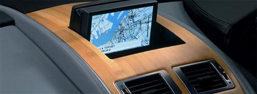 Aston Martin bamboo interior