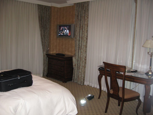 Royal Park hotel room