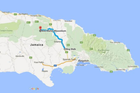 jamaica map marley