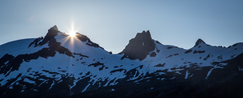 Last Light over the Mountains