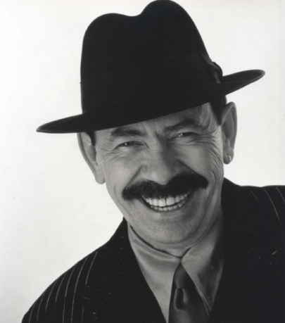 Photo of the ScatMan, AKA Scatman John.