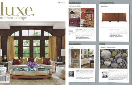 Feature in Luxe Magazine