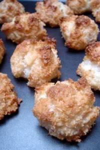 chocolate coconut macaron cookie recipe