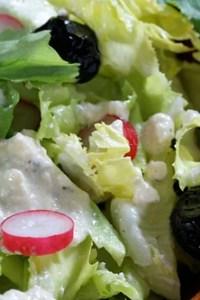 creamy feta red wine vinegar salad dressing