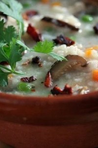 jook chinese rice soup
