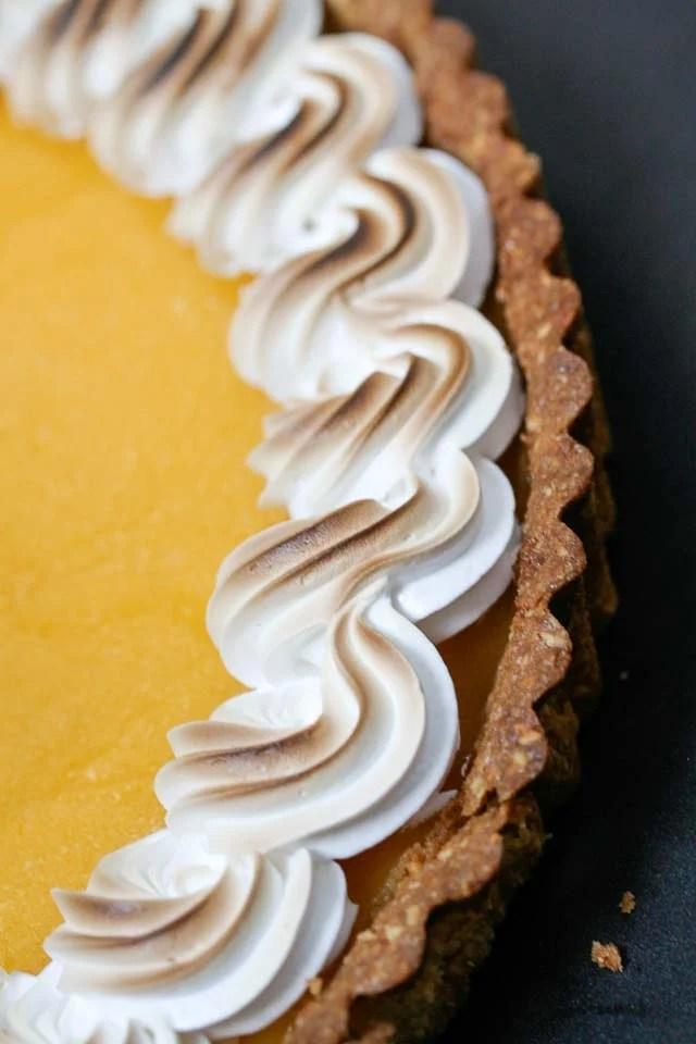 lime meringue tart recipe