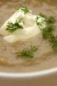 fennel pear soup