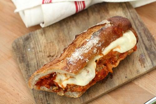 Meatball Sandwich - David Lebovitz