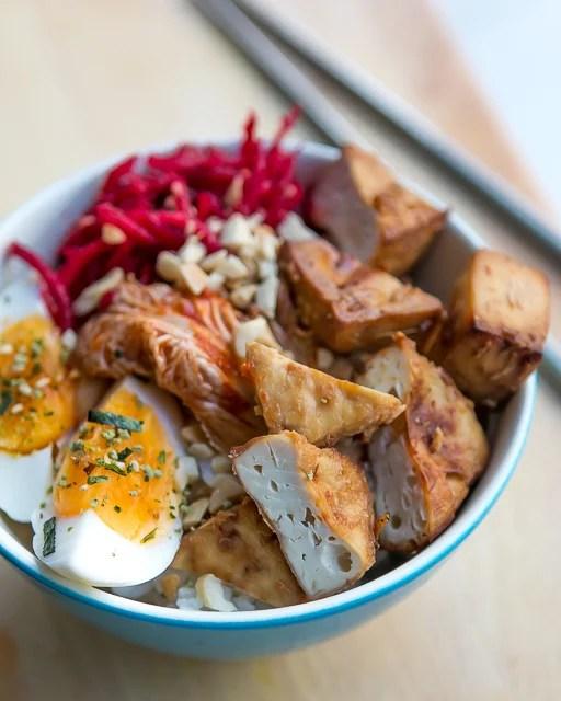 Baked Marinated Tofu Recipe-13