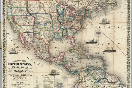 united states and mexico map images