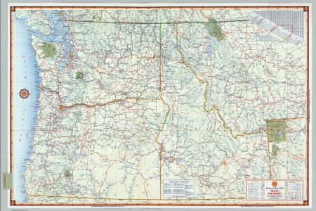 map of northwest united states
