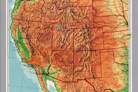 western states map images