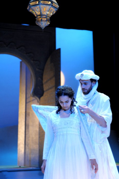 Red Fortress - David Smith as Pilgrim King, Gehane Strehler as Rabia - Image by Alice Pierburg