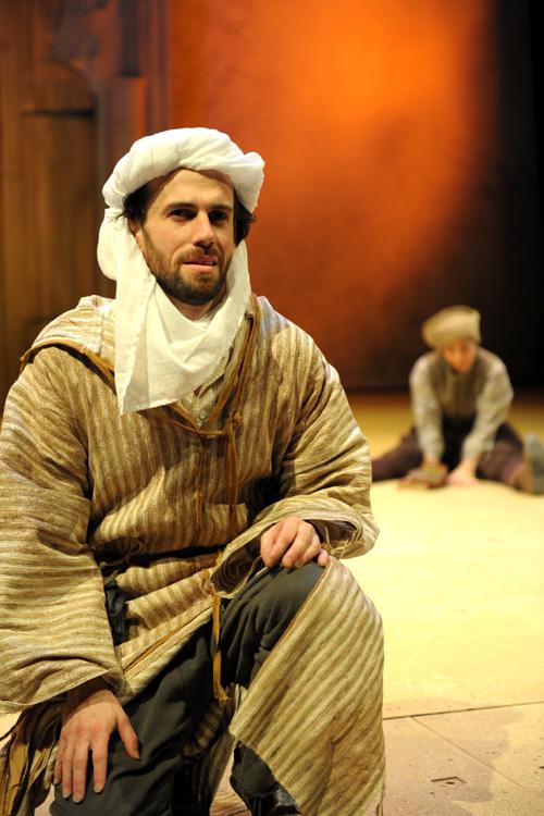 Red Fortress - David Smith as Pilgrim King, Gehane Strehler as Rabia - Image by Alice Pierburg