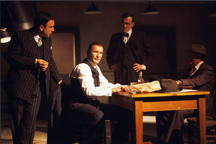 The Postman Always Rings Twice - David Smith as Jeremies, Joseph Alessi as Katz, Robert Jezek as Barlow