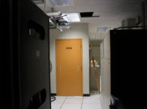 The infamous AT&T San Francisco central office secret NSA room.