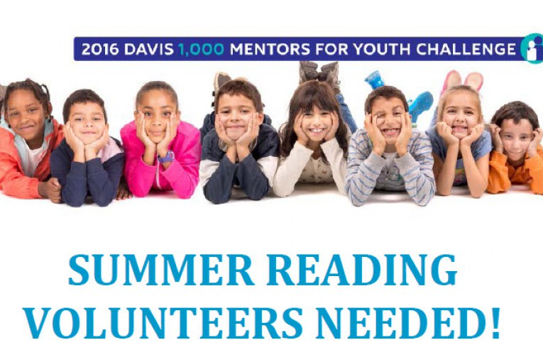 Summer Reading Volunteers Needed!