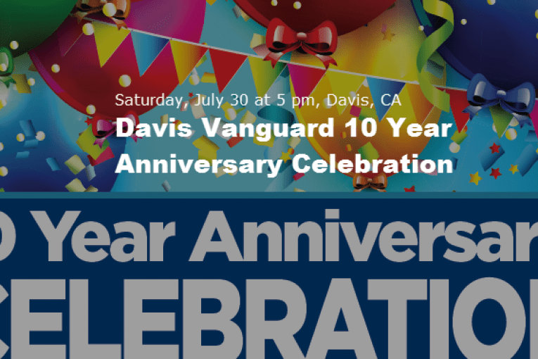Get Your Tickets Now for the Vanguard 10 Year Anniversary Celebration