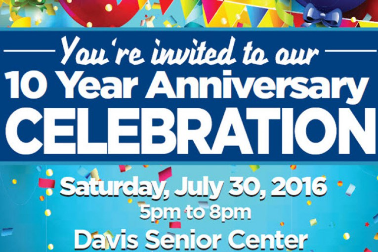 Join Mayor Davis and DJUSD Board President Sunder For Vanguard 10th Anniversary Bash
