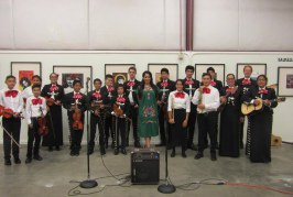 Join Us on Saturday, Music from Mariachi Puente, Beer Courtesy Sudwerk