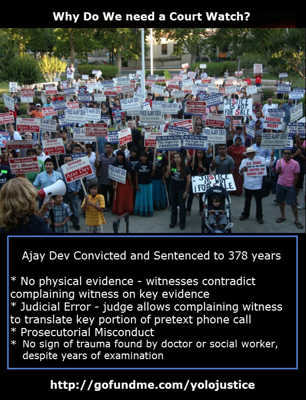 The Ajay Dev Case: Why We Need a Court Watch