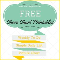 Why I Hated Chore Charts, Plus a FREE Printable