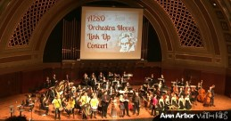 $50 VALUE - One $50 gift certificate towards tickets to any show by the Ann Arbor Symphony Orchestra