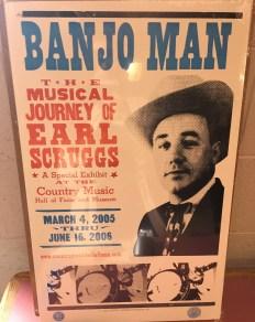 Earl Shruggs Poster