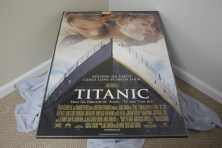 $90 VALUE - Framed Titanic Poster donated by The Art Spot