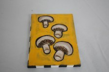 $45 VALUE - Mushroom wallhanging by artists Toni & Jay Mann