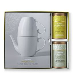 "$89.95 VALUE - Teavana Oprah Chai ""Tea for One"" tea pot w/mug boxed set"
