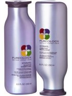 $100 VALUE - Haircare products including Pureology shampoo and conditioner, Moroccan oil dry shampoo, and hair protein donated by Karma Hair Studio