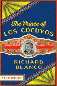 Blanco's memoir discusses his childhood in Miami.