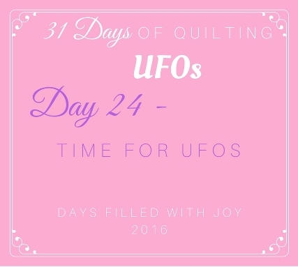 Day 24 – Time for UFOs