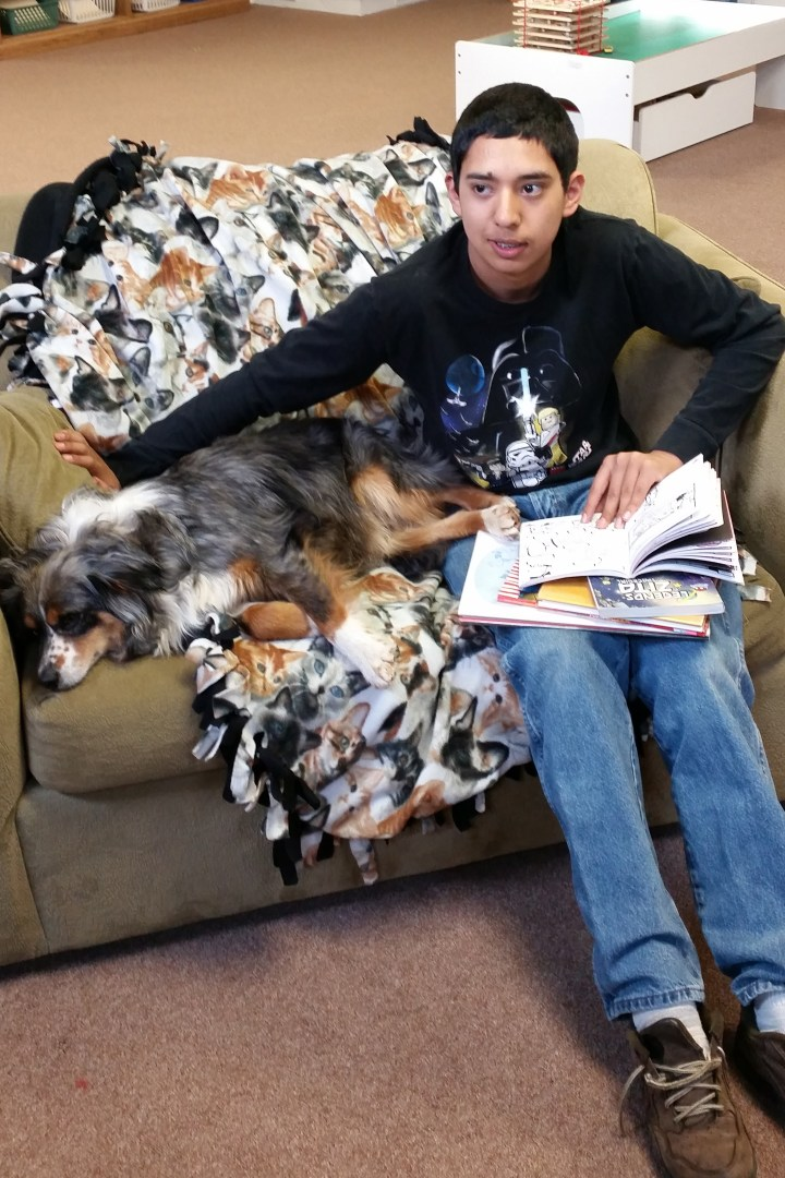 SIT-STAY-READ- Reading with Tex