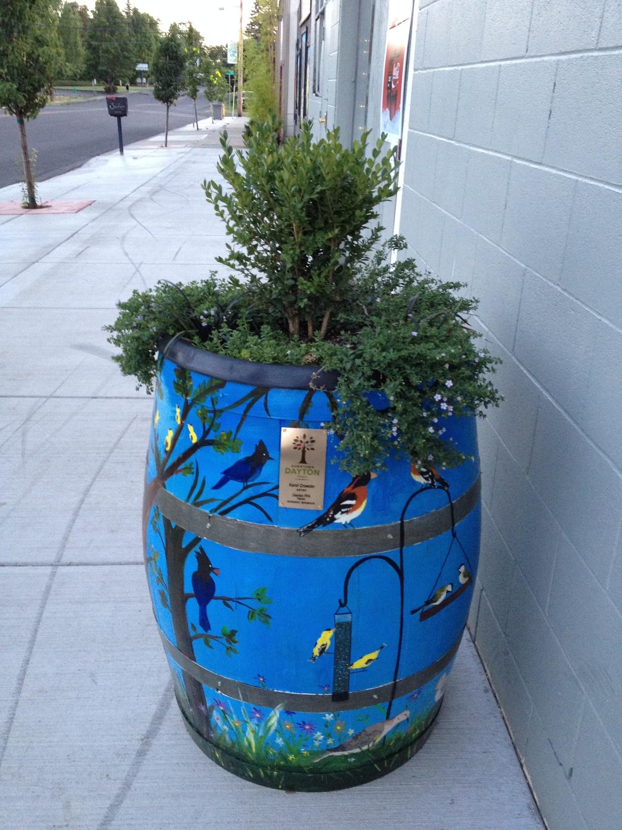 Mind New Wine Barrel Planters Downtown Wine Barrel Planters Oakland Wine Barrel Planter Near Me houzz-03 Wine Barrel Planter