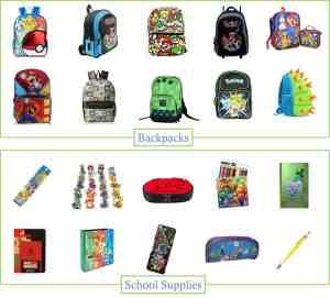 Gamer School Supplies