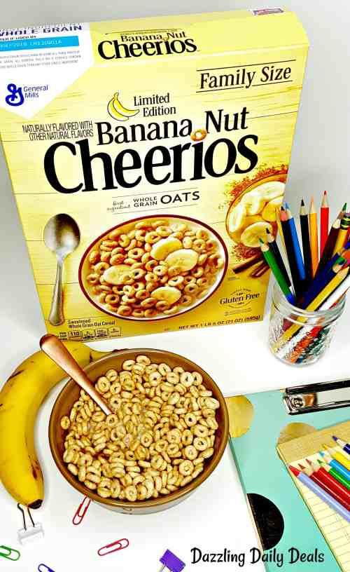 Medium Of Banana Nut Cheerios