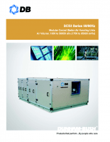 Modular central station air handling units-SCS3 series