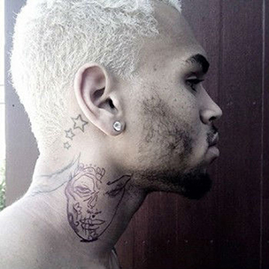 Chris Brown Tattoo Looks An Awful Lot Like A Abused Woman